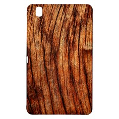 OLD BROWN WEATHERED WOOD Samsung Galaxy Tab Pro 8.4 Hardshell Case