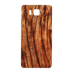 OLD BROWN WEATHERED WOOD Samsung Galaxy Alpha Hardshell Back Case
