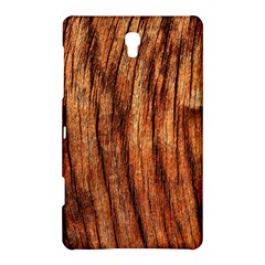 OLD BROWN WEATHERED WOOD Samsung Galaxy Tab S (8.4 ) Hardshell Case