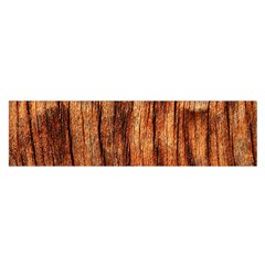 Old Brown Weathered Wood Satin Scarf (oblong)