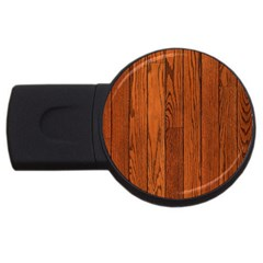 OAK PLANKS USB Flash Drive Round (1 GB)
