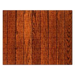 OAK PLANKS Rectangular Jigsaw Puzzl