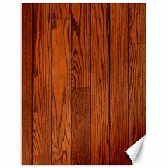 Oak Planks Canvas 18  X 24
