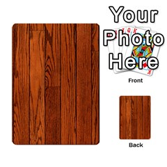 Oak Planks Multi Purpose Cards (rectangle)