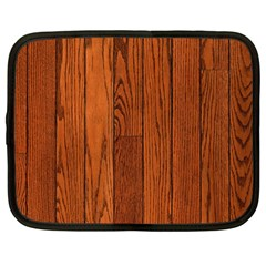 Oak Planks Netbook Case (large)