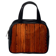 Oak Planks Classic Handbags (one Side)