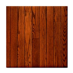 Oak Planks Face Towel