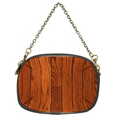 Oak Planks Chain Purses (two Sides)