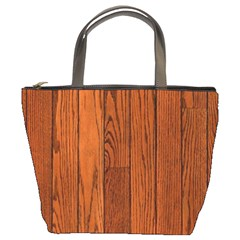 Oak Planks Bucket Bags