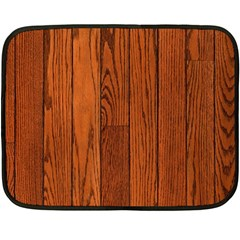 Oak Planks Double Sided Fleece Blanket (mini)