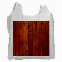 Oak Planks Recycle Bag (one Side)