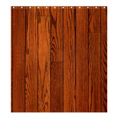 Oak Planks Shower Curtain 66  X 72  (large)