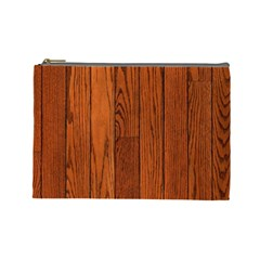 Oak Planks Cosmetic Bag (large)