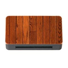 Oak Planks Memory Card Reader With Cf