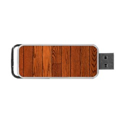 Oak Planks Portable Usb Flash (one Side)