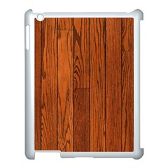 OAK PLANKS Apple iPad 3/4 Case (White)