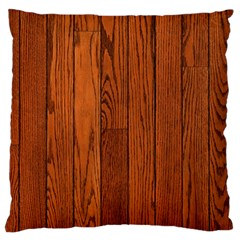 Oak Planks Standard Flano Cushion Cases (two Sides)