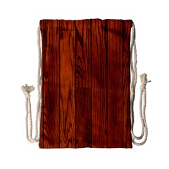 Oak Planks Drawstring Bag (small)