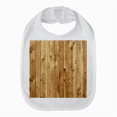 Light Wood Fence Bib