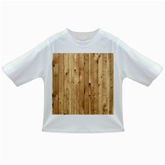 Light Wood Fence Infant/toddler T Shirts