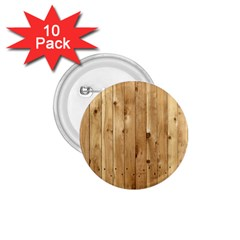 Light Wood Fence 1 75  Buttons (10 Pack)