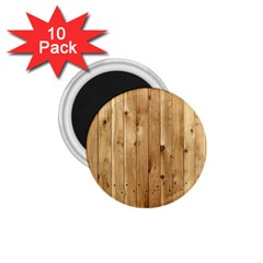 Light Wood Fence 1 75  Magnets (10 Pack)