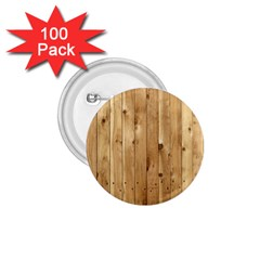 Light Wood Fence 1 75  Buttons (100 Pack)