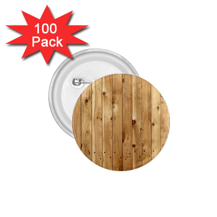 LIGHT WOOD FENCE 1.75  Buttons (100 pack)