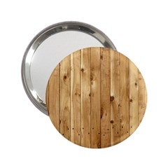 Light Wood Fence 2 25  Handbag Mirrors