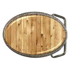 Light Wood Fence Belt Buckles