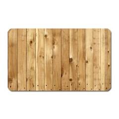 Light Wood Fence Magnet (rectangular)