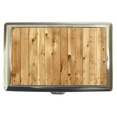 Light Wood Fence Cigarette Money Cases