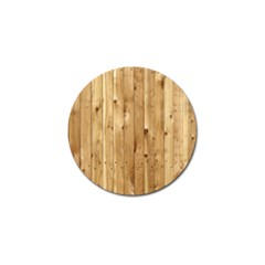 Light Wood Fence Golf Ball Marker