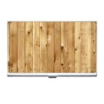 LIGHT WOOD FENCE Business Card Holders Front
