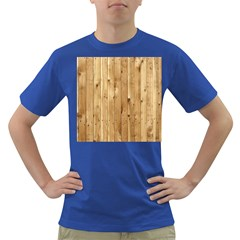 Light Wood Fence Dark T Shirt