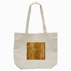 Light Wood Fence Tote Bag (cream)