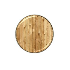Light Wood Fence Hat Clip Ball Marker (4 Pack)