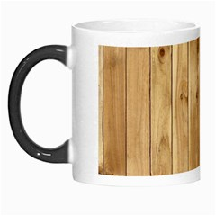 Light Wood Fence Morph Mugs
