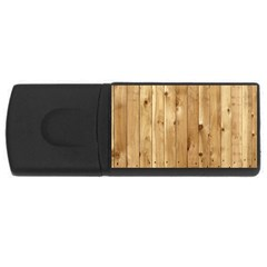 Light Wood Fence Usb Flash Drive Rectangular (4 Gb)