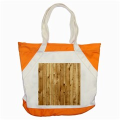 Light Wood Fence Accent Tote Bag
