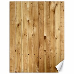 Light Wood Fence Canvas 18  X 24