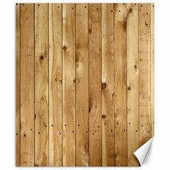 Light Wood Fence Canvas 20  X 24