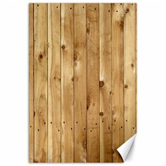 Light Wood Fence Canvas 20  X 30