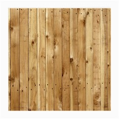 Light Wood Fence Medium Glasses Cloth