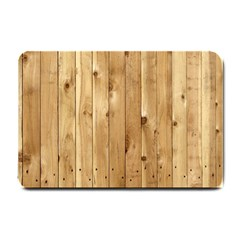 Light Wood Fence Small Doormat