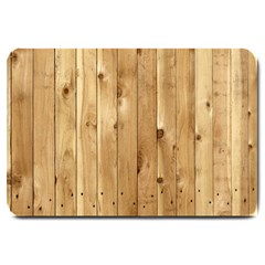 Light Wood Fence Large Doormat