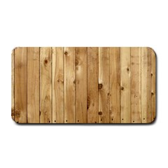 Light Wood Fence Medium Bar Mats