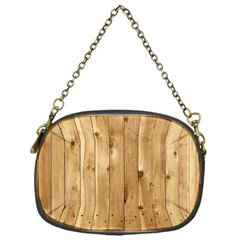 Light Wood Fence Chain Purses (one Side)