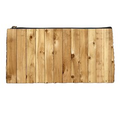 Light Wood Fence Pencil Cases