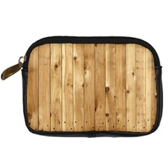 Light Wood Fence Digital Camera Cases